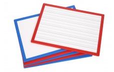 Écritoise 24x33 cm - blanc émaillé - face 2 : sérigraphie lignage cp-maternelle