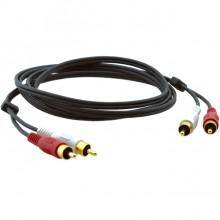 Câble Audio 2 RCA/2 RCA C-2RAM/2RAM-1 KRAMER