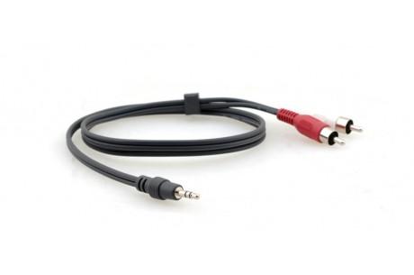Câble Audio Stéréo Jack 3,5Mm Vers 2 Rca C-A35M/2RAM-6 KRAMER