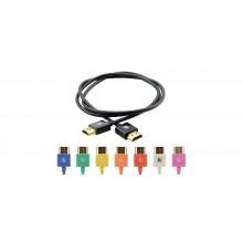 Câble HDMI Ultra Flexible Haut-Débit avec Ethernet C-HM/HM/PICO/BK-3 KRAMER