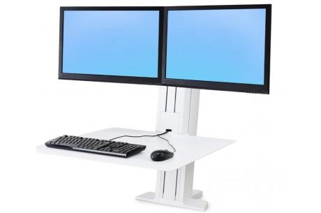 Poste bi-écran WorkFit-SR