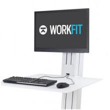 Poste mono-écran WorkFit-SR