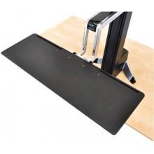 Grande tablette de clavier pour station de travail WorkFit-S
