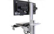 Poste mobile Neo-Flex® bi-écrans WideView