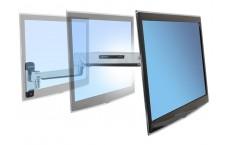 Bras LX assis-debout mono-écran, fixation