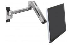 Bras LX assis-debout mono-écran HD, fixation murale