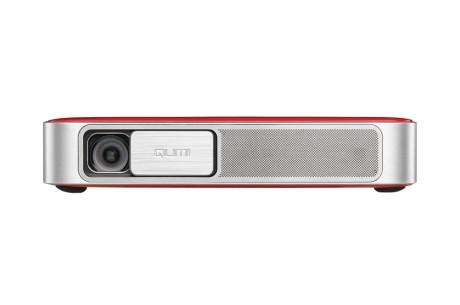 Projecteur ultra portable Qumi Q38 Rouge