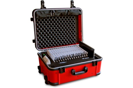 Valise Balibom Tablet 10x16   Dimensions : 63 x 49 x 30.5cm 23 Kg complète