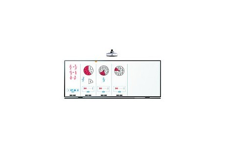 Tableau blanc interactif tactile i3BOARD  100 16:9, 10 points de contact