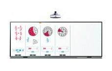 Paire de volets pour i3BOARD 77' pour fixation murale, double face en émail e3™